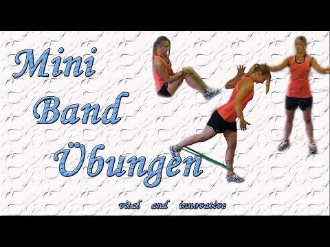 Ganzkörper Training mit dem Mini Band - Muskelaufbau zu Hause