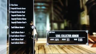 Skyrim Mods Xbox 360 - Imperial Assassin & Shadow Armors