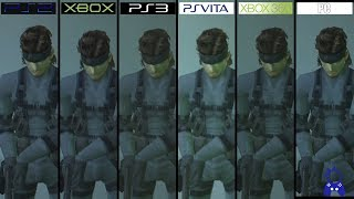 Metal Gear Solid 2 | PS2 vs Xbox vs PC vs PS3 vs Vita vs 360 | All versions Comparison