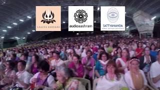 Выступление в шараме, Индия. Performance in Indian ashram.