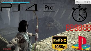 Shadow of The Colossus | TIME ATTACK MODE | Normal | PS4PRO FULL HD 1080p60