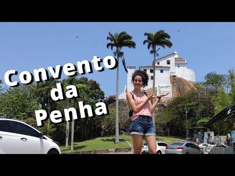 Conhecendo o convento da Penha