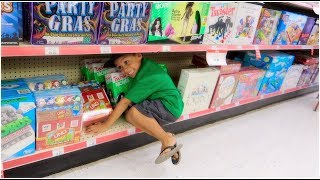 THE FLOOR IS LAVA at TOYS R US and more....