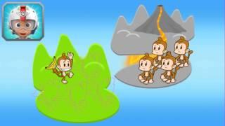Новый проект Щенячий патруль  В полет! Крепыш спасает обезьянок  Мультик игра для детей для малышей