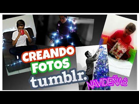 Creando fotos Tumblr versión navidad / Emir Canela