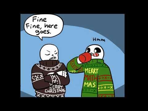 Christmas Party Au Comic.Download Undertale Merry Christmas Dub Comic Undertale Video