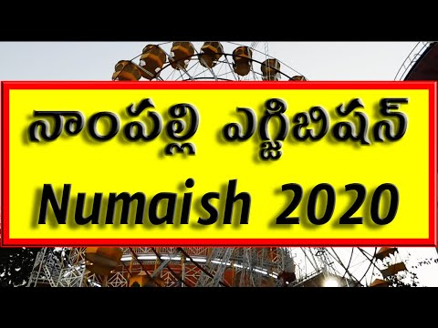 2020 Hyderabad Nampally Exhibition Numaish