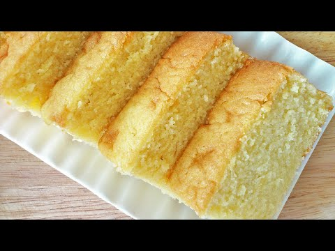 Video Fluffy Butter Cake (牛油蛋糕)