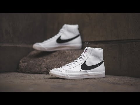 "Nike Blazer Mid '77 Vintage ""White / Black"": Review & On-Feet"