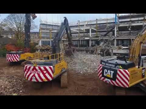 Mick George demolition