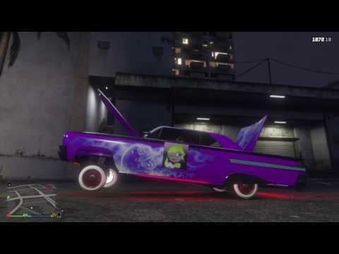 Grand Theft Auto V NWA Hydraulics my new car.