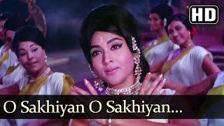 O Sakhiya Sakhiya - Dharmendra - Vaijayantimala - YouTube