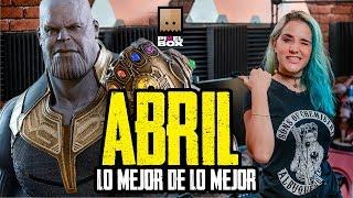 LAS MEJORES PELÍCULAS Y VIDEOJUEGOS DE ABRIL 2019