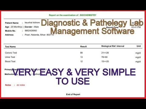 Diagnostic & Pathology Lab Software   best lab management software   laboratory management system