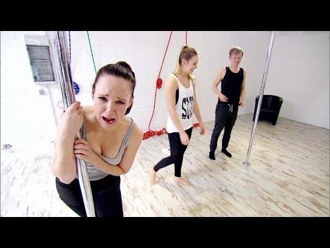 Poledance-Kurs mit Caro und Pierre - PussyTerror TV