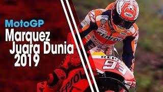 Finis di Posisi Pertama di MotoGP Thailand, Marc Marquez Pastikan Diri Juara Dunia 2019