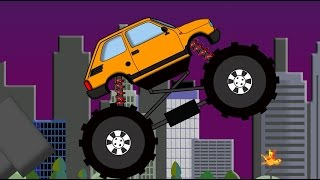 Monster Truck - Demolisher | Auto Demolka Dla Dzieci