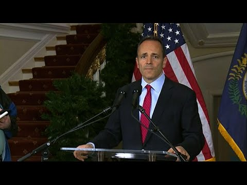 Kentucky Gov. Bevin seeks vote recanvass