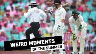 Weird and wacky moments of the 2019-20 summer