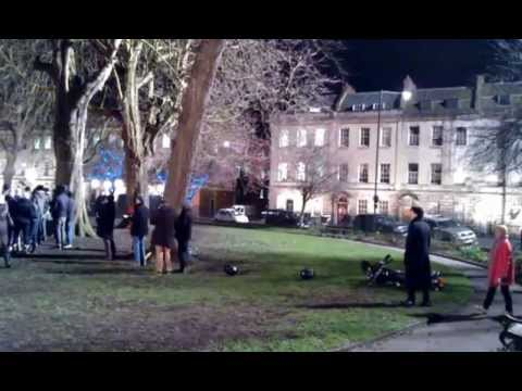 Sherlock - Episode 3.01 - The Empty Hearse - Set Video, Photos and Report
