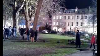 Tournage à Portland Square (Bristol) - (25/03/13)
