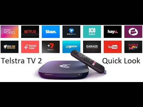 Telstra TV 2 - Quick look at the interface videominecraft ru