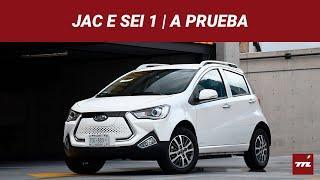JAC E Sei 1, a prueba: el auto eléctrico más barato de México es lógico en todo, menos en precio