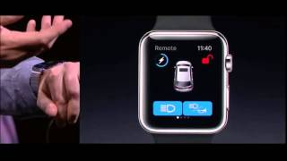 New Apple Watch OS 2 Demo at WWDC 2015