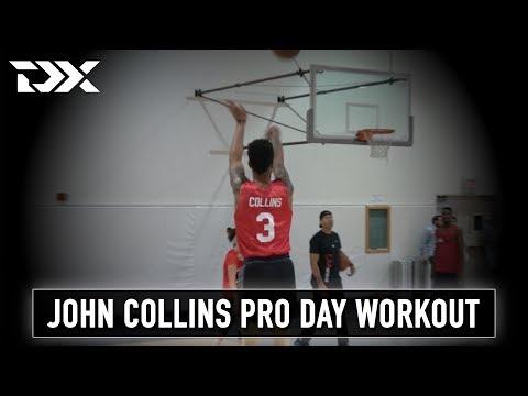 John Collins CAA Sports Pro Day Workout