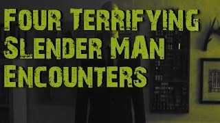 Four  Terrifying Slender Man Encounters Collaboration With HollyWizzle