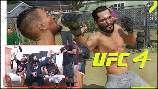 You Can Fight In The Backyard?!? (UFC 4 Reveal Trailer Reaction)