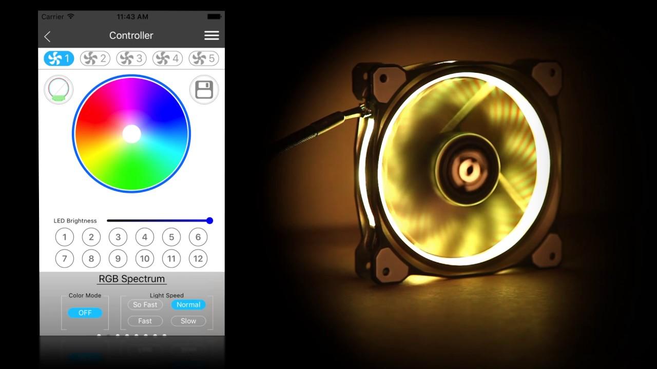 Thermaltake Global Riing Plus 12 Rgb Radiator Fan Tt Premium Fans Electronic Product Design
