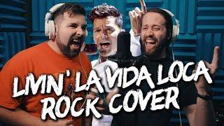 Livin' La Vida Loca (Shrek 2)   METAL (Cover By Jonathan Young, Caleb Hyles & SixteeninMono)
