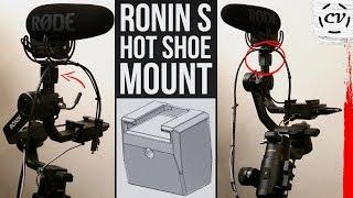 Ronin S Hot Shoe Mount