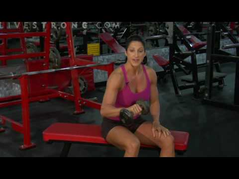 Dumbbell Single Arm Reverse Wrist Curl