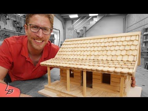 #1 Wie baue ich ein Vogelhaus? | Lets Bastel