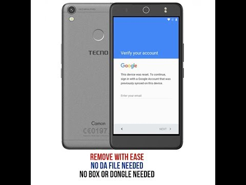 Easiest method to remove frp on Tecno Camon CX and CX AIR