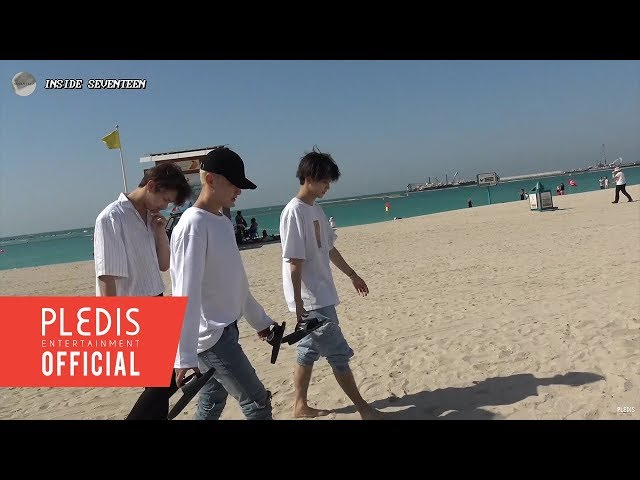 [INSIDE SEVENTEEN] SEVENTEEN's Records in Dubai 📹 #2