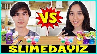 Slime Yarışması Slimedayız Slime Challenge Eğlenceli Çocuk Videosu Dila Kent