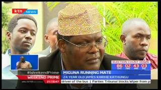 Miguna Miguna unveils 24-year-old former student leader James Gathongo as running mate