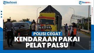 Temui Kendaraan Berpelat Palsu, Polres Mojokerto akan Tindak Tegas Praktik Pemalsuan Dokumen