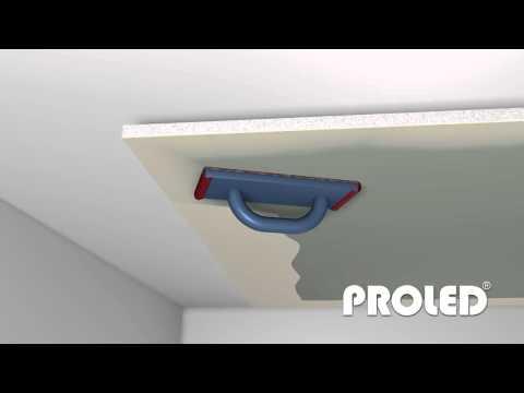 montare un profilo per cartongesso illuminato con Led
