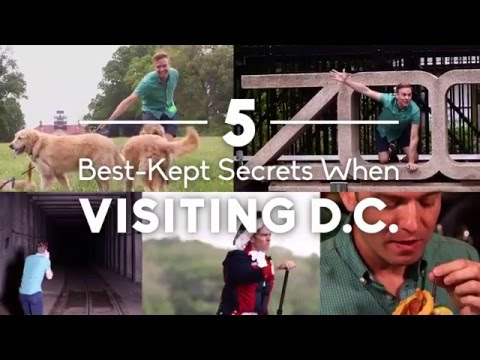 Video The 5 Best-Kept Secret Spots to Visit in Washington DC