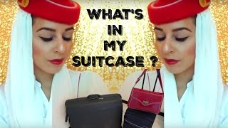 What's In My Suitcase ? ✈ Emirates Cabin Crew | Yas & Nab