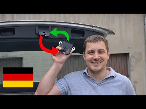 Heckklappenschloss reparieren VW Golf V Variant
