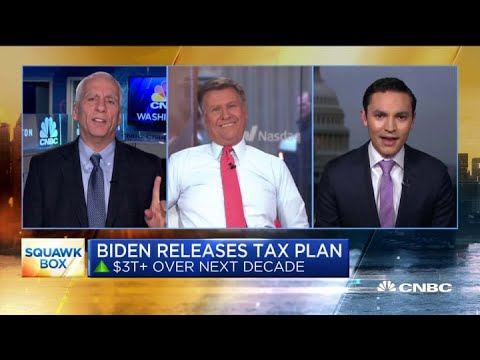 Biden's proposed tax plan is anything but moderate, says policy analyst