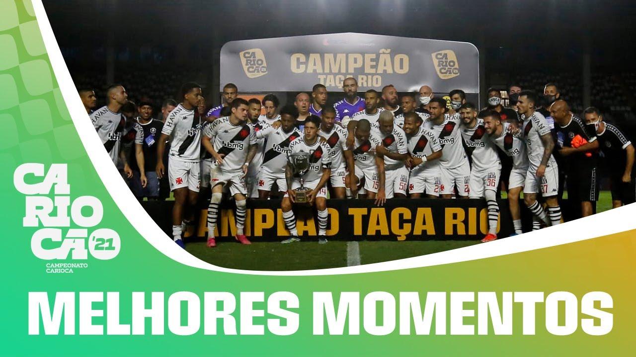 VÍDEO: Gol, melhores momentos e pênaltis de Vasco 0x1 Botafogo pela decisão da Taça Rio
