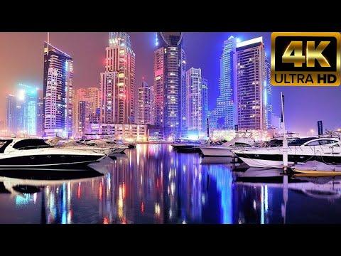 ГОРОД  ДУБАЙ Video  4К  Ultra HD