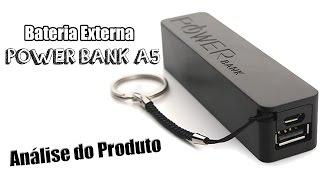 Power Bank A5 2600 mAh - Análise do Produto / Dicas de uso