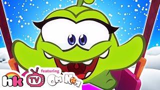 Om Nom Stories: Om Nelle Compilation   Funny Cartoons for Kids   HooplaKidz TV
